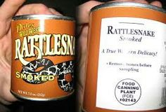 Rattlesnake 30 Canned Foods You Never Knew Existed Scary Food, Gross Food, Weird Food, Lemon Jello, Stone Cold Steve, Exotic Food, Food Humor, Funny Food, Kitchens