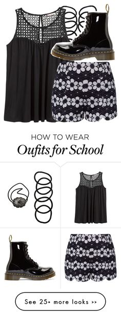 """middle school outfit idea #1"" by volleyballspikr on Polyvore"