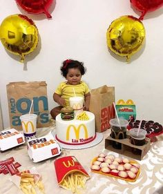 Birthdays can be expensive. Instead of doing this call NYC Birthday Clowns and let us handle everything! Mcdonalds Birthday Party, Birthday Clown, Happy Birthday, Birthday Parties, 5th Birthday, Birthday Ideas, Mc Donald Birthday, Mc Donald Party, Dessert Decoration