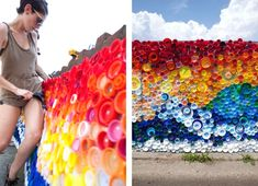 When the Beach Met the Bay: Plastic Mosaic Recalls Hurricane Sandy Destruction