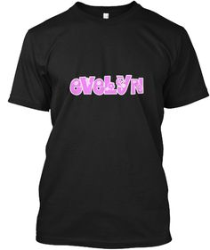 Evelyn Flower Design Black T-Shirt Front - This is the perfect gift for someone who loves Evelyn. Thank you for visiting my page (Related terms: Evelyn,I Love Evelyn,Evelyn,I heart Evelyn,Evelyn,Evelyn rocks,I heart names,Evelyn rules, Evelyn ho #Evelyn, #Evelynshirts...)