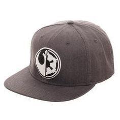 huge discount e407e 49bf3 Star Wars Split Logo Rebel Imperial Flatbill Flex Cap