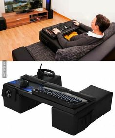 couchmaster pro - http://www.amazon.de/COUCHMASTER%C2%AE-Pro-PC-Gaming-integriertes-Kabelmanagement/dp/B00CCHRJ2Q