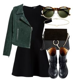 """""""Untitled #5216"""" by laurenmboot ❤ liked on Polyvore featuring Opening Ceremony, Chloé, Fiorentini + Baker, MANGO, Minor Obsessions, women's clothing, women, female, woman and misses"""