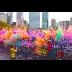 Must complete the colour run!!!!!