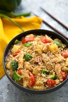 The quinoa, chicken, and veggies are all cooked in ONE dish – the crockpot makes this dinner incredibly simple to make! This is seriously one of the easiest teriyaki chicken recipes ever. On this site, there does happen to be a very simple oven baked teriyaki dish which my family seriously loves, but as far as getting some veggies,... Read More »