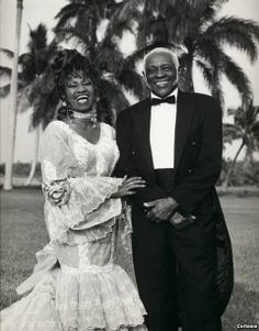cuban wedding bride and groom inspiration, one of the most beautiful women of all time.Celia Cruz and her Pedro Knight BY: ALEXIX RODRIGUEZ DUARTE Beautiful Love Stories, My Black Is Beautiful, Beautiful Couple, Black Love, Beautiful Women, Musica Salsa, Salsa Music, Afro Cuban, Latin Music
