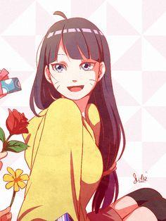Tags: Fanart, NARUTO, PNG Conversion, Tumblr, Uzumaki Himawari, Ysue-chan