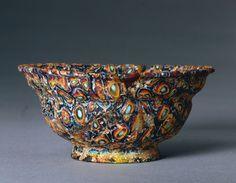 Millefiorie bowl 1st century Rome