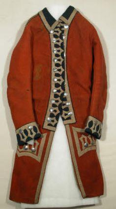 ... century men s 1700 s fashion canadagoo coats wint 1773 uniforms 1700s