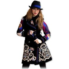 Savage Culture Black Carola Coat