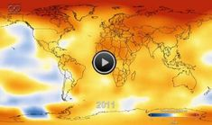 This is why we do, what we do; a short animation to show how the world's temperature has increased year on year due to our creation of harmful gases;