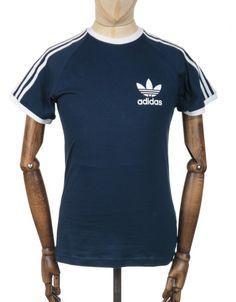 fb43e2f4 Buy Retro Trefoil Logo T-shirt - Collegiate Navy by Adidas Originals from  our Clothing range - Blues - @ fatbuddhastore