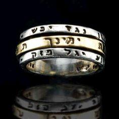 Amulet | Kabbalah Ring | Ana Bekoah | Kabbalah Gifts