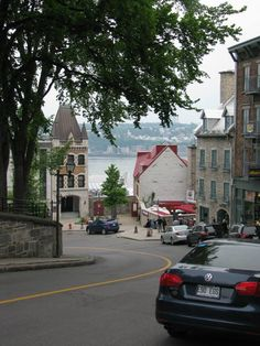 This is Quebec city. I went there for a week in the summer to teach English 4 Kids