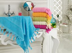 SARAY cotton towel 30*50   منشفة السراية القطنية