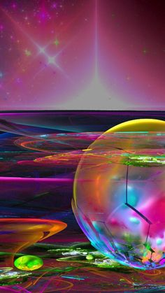 #abstract #abstractart #background #wallpapers #wallpaperbackgrounds #colores #burbujas Wallpaper Backgrounds, Wallpapers, Northern Lights, Abstract Art, Nature, Travel, Abstract Backgrounds, Bubbles, Naturaleza