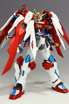 GUNDAM GUY: HGBF 1/144 Kamiki Burning Gundam [Gundam World Champion] Custom - Custom Build