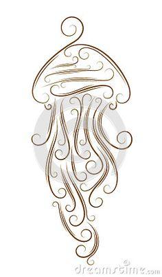 Sketch of jellyfish
