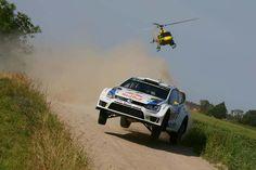 Rallye de Pologne, bagarre entre pilotes Volkswagen