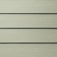 James Hardie HardiePlank Primed Soft Green Cedarmill Lap Fiber Cement Siding Panel (Actual: 0.312-in x 5.25-in x 144-in)