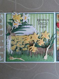 2016 lizanne Handmade Card Making, Marianne Design, Garden Theme, Flower Cards, Spring Time, Birthdays, Cricut, Scrapbooking, Paper Crafts