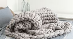 Large Ohhio Blanket. It's quite big for whole your family. You can use it as a throw, wrap or whatever comes to your mind. Natural merino wool is so warm, soft and smooth that you won't want to part with your Large Ohhio blanket.