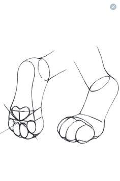 Feet paws
