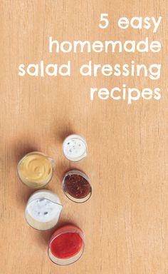 How to make homemade salad dressing: 5 easy DIY recipes