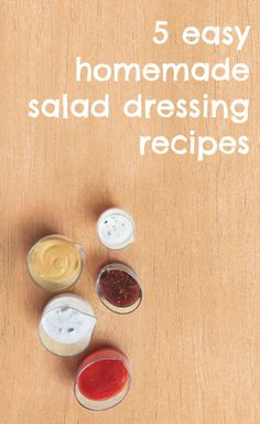 How to make homemade salad dressing: 5 easy DIY recipes