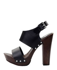 Versace 1969 abbigliamento sportivo srl milano italia - 100% made in italy - scarpe donna - zoccoletti 100% vera pelle - - Zoccolo donna marica Nero