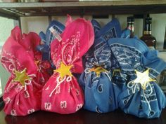 goody bags for a cowgirl party