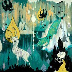 Camille Rose Garcia from Subterranean Death Clash series, 2006 Camilla Rose, Camille Rose Garcia, Lowbrow Art, Pop Surrealism, Art Model, Oeuvre D'art, Art Boards, New Art, Art History