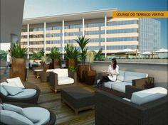 Lounge do terraço Vértice
