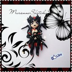 Handmade League of Legends Elise Chibi by MarienneCreations