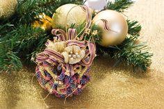 El blog de Dmc: Tutorial para hacer bolas de Navidad en ganchillo