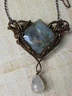 Dreamy Labradorite Necklace