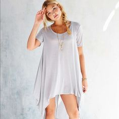 Project Social T Brooks Tunic Top NEVER WORN BEFORE! PERFECT CONDITION! very soft and lightweight! Urban Outfitters Dresses High Low