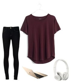"""""""Untitled #10"""" by srengelbird on Polyvore featuring Ström, Madewell and Beats by Dr. Dre"""