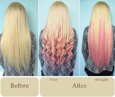 Vpfashion Customized Hair Extensions in 2014 Trendy Hair Colors hair extensions before and after pink dip dye hair extensions looks