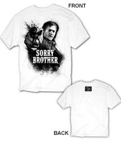 The Walking Dead Daryl Sorry Brother Men's T-Shirt $9.85