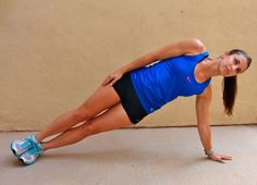 Side Plank Hip Lift - Another! Side Plank Hip Lifts, I Work Out, Train Hard, Stay Fit, Pilates, Fitness Inspiration, Health Fitness, Fitness Legs, Fitness Motivation
