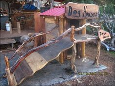 8. Doggie Treehouse