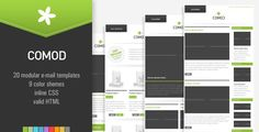 COMOD - 20 E-mail Templates