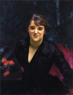 Madame Errazuriz (also known as The Lady in Black), 1882  John Singer Sargent
