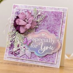 Crafters Companion, Your Favorite, Decorative Boxes, Cards, Instagram, Lace, Home Decor, Decoration Home, Room Decor
