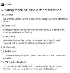 Does your story pass these female representation checkpoints? : writing - Does your story pass these female representation checkpoints? Creative Writing Tips, Book Writing Tips, Writing Resources, Writing Help, Writing Boards, Writing Promts, Story Prompts, Writing Inspiration, Design Inspiration