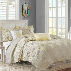 Madison Park Nisha Coverlet Set - BedBathandBeyond.com