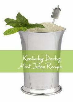 Kentucky Derby Original Mint Julep Recipe | DerbyMe.com