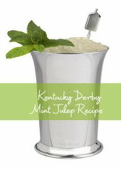 Kentucky Derby Original Mint Julep Recipe | DerbyMe.com